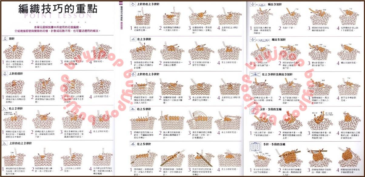 Chinese Knitting Patterns : Out of Print Chinese Japanese Knit Craft Pattern Book 300 Knitting Stitch Sty...